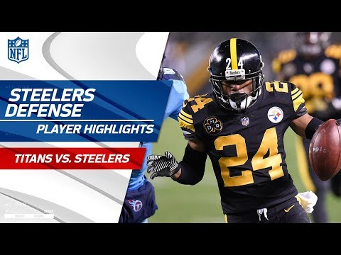 Video: Pittsburgh's Defense Gets 5 Sacks, 4 INTs, & 1 Blocked Kick | Titans vs. Steelers | Wk 11 Player HLs