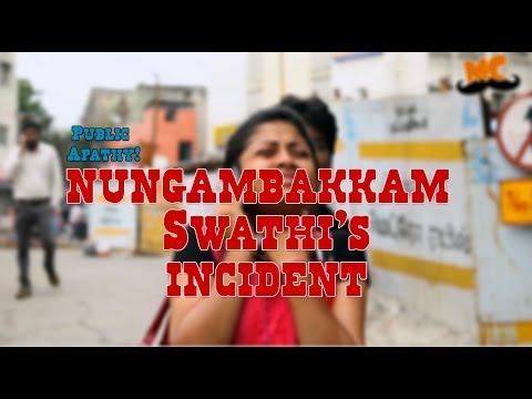Public Apathy – Infosys Swathi's Incident
