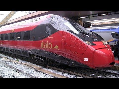 Presentazione Pendolino EVO NTV Italo ETR 675 n.05 a Roma Termini