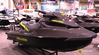 8. 2015 Sea Doo GTX Limited 215 - Exterior and Interior Walkaround - 2015 Toronto Boat Show