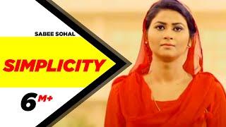 Video Simplicity | Sabee Sohal | Latest Punjabi Song 2017 | Speed Records MP3, 3GP, MP4, WEBM, AVI, FLV April 2017