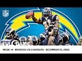LaDainian Tomlinson Breaks Single-Season TD Record vs. Broncos (Week 14, 2006) | NFL Full Game