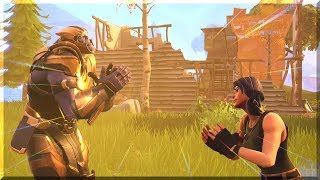 TEAMING UP WITH THANOS (fortnite)