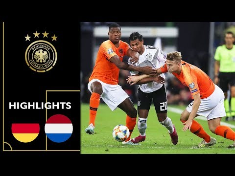 Half-time lead is not enough | Germany vs. Netherlands 2-4 | Highlights | Euro Qualifiers