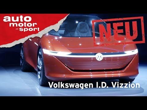 VW I.D. Vizzion – Kommt der Tesla-Killer von VW? – Genf ...