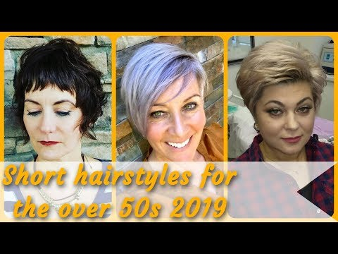 Short haircuts - The Best  20 short hairstyles for the over 50s 2019