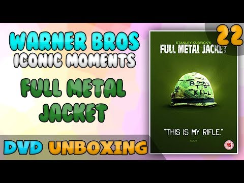 Full Metal Jacket (Iconic Moments #22) DVD UNBOXING
