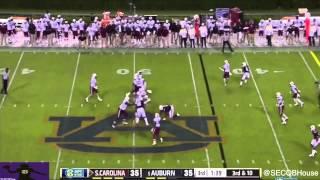 Dylan Thompson vs Auburn (2014)