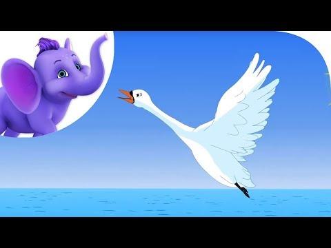 Swan, Swam Over the Sea - Nursery Rhyme with Karaoke