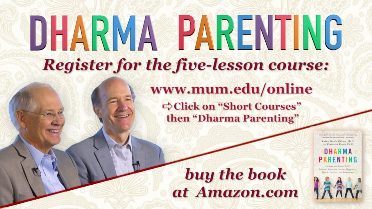 Dharma Parenting: A New Approach