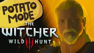 Video The Witcher 3's Lowest Settings Are An Existential Nightmare | Potato Mode MP3, 3GP, MP4, WEBM, AVI, FLV Januari 2019