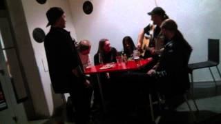"""Video 08.02.14 - KRYPTON (CZ) """"živě, unplugged"""" - Sepultura (Motörhead"""