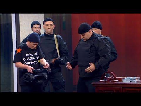 Как снимают задержание коррупционера - Дизель Шоу | ЮМОР IСТV - DomaVideo.Ru