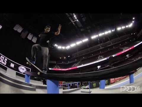 La - Paul Rodriguez from Street League Los Angeles 2014. Filmed by Kyle Steneide.