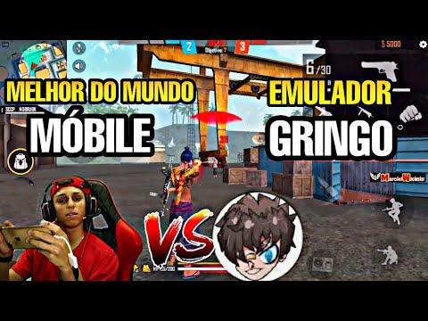 1X1 NOBRU VS EMULADOR GRINGO, MELHOR MOBILE vs GRINGO EMULADOR