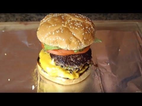 How to Make a Five Guys Hamburger at Home