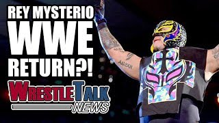 Rey Mysterio returning to WWE in this WrestleTalk News July 2017.Subscribe to WrestleTalk for daily WWE and wrestling news! https://goo.gl/WfYA12Support WrestleTalk on Patreon here! http://goo.gl/2yuJpoRey Mysterio could go back to WWE, or GFW - https://www.si.com/extra-mustard/2017/07/17/rey-mysterio-wwe-gfw-free-agent Rey Mysterio on going back to WWE - https://www.si.com/extra-mustard/2016/12/21/week-wrestling Dave Meltzer talks Lucha Underground Season Four - http://members.f4wonline.com/wrestling-observer-newsletter/july-3-2017-wrestling-observer-newsletter-summerslam-plans-change-cody Subscribe to the WrestleTalk Podcast Network on iTunes: https://goo.gl/783yg4Catch us on Facebook at: http://www.facebook.com/WrestleTalkTVFollow us on Twitter at: http://www.twitter.com/WrestleTalk_TV