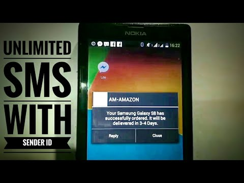 How To Send Unlimited SMS With Custom Sender ID In 2019 | TextVext App