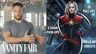 Video How a Celebrity Trainer Gets Actors in Shape for Movies | Vanity Fair MP3, 3GP, MP4, WEBM, AVI, FLV September 2019