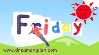 Friday Song for Children, Days of the Week Songs