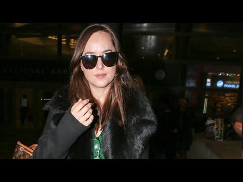 Fifty Shades Darker Star Dakota Johnson Inspires Conflict At LAX