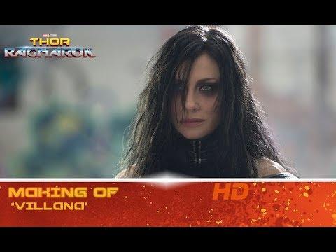 Thor: Ragnarok de Marvel | Making of: 'Villana' | HD