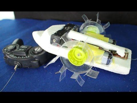 как сделать моторчик для лодки