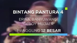 Full Video : http://bit.ly/2xa8xpfSimak penampilan Erina peserta asal Banyuwangi yang menyanyikan lagu berjudul 'Geboy Mujaer' di panggung megah Bintang Pantura 4. Seperti apa penampilan dari Erina asal Banyuwang? Saksikan selengkapnya di Bintang Pantura 4, Bergoyang di Panggung Impian!Connect with INDOSIARWebsite : http://www.indosiar.com/Facebook : https://www.facebook.com/IndosiarID.TV Twitter : https://twitter.com/IndosiarID Instagram : @IndosiarBBM Channel : C0049B721