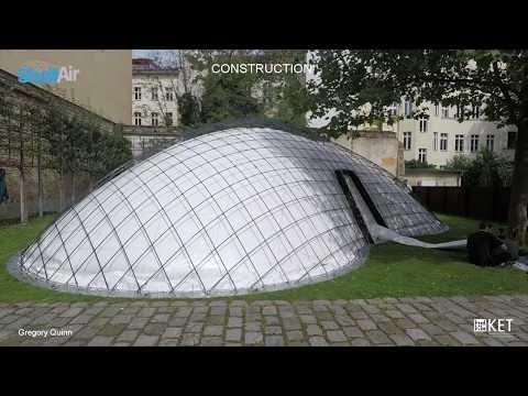 SheltAir - ANCB Pavilion - Design & Build Video