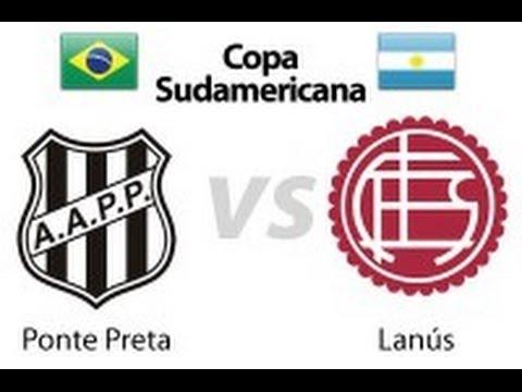 Ponte Preta 1 x 1 Lanus - 1ª Final Copa Sulamericana 2013 - Jogo Completo