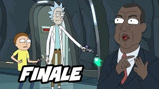 Rick and Morty Season 3 Finale and Season 4 Interview Breakdown