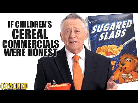 If Children s Cereal Commercials Were Honest