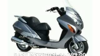 8. 2008 United Motors Xpeed 250i Review