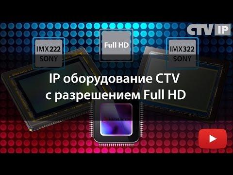 Видеообзор профессиональной линейки IP оборудования CTV с разрешением Full HD