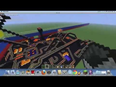 Minecraft Roller Coaster- DANGER! [1.7.9] (JOIN PVP SERVER: mc-raze.net)