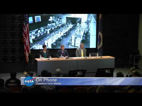 Conference - NASA held a news conference Tuesday October 28 following the mishap that occurred at NASA's Wallops Flight Facility in Virginia during the attempted launch of Orbital Sciences Corp's Antares...