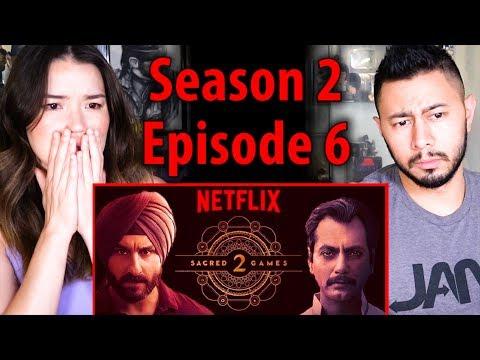 SACRED GAMES | Season 2 Episode 6 | Saif Ali Khan | Nawazuddin Siddiqui | Reaction!