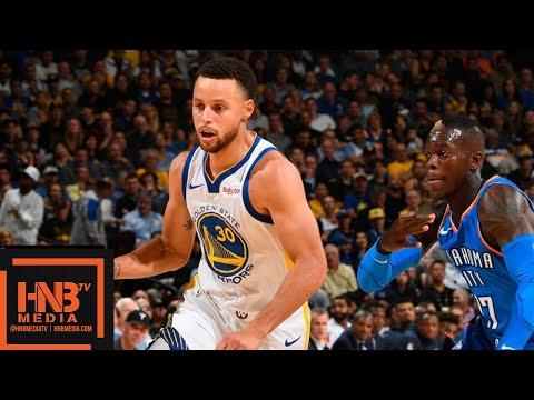 Golden State Warriors vs Oklahoma City Thunder Full Game Highlights   10.16.2018, NBA Season
