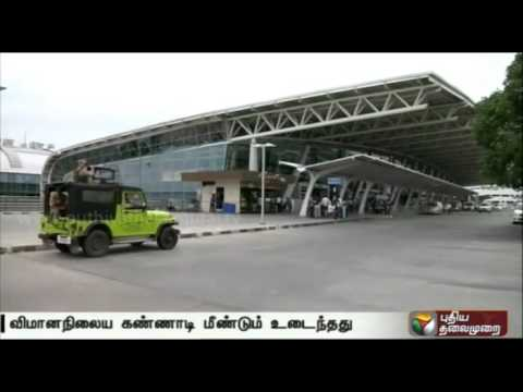 Shattering-of-glass-panels-at-Chennai-Airport-for-the-second-consecutive