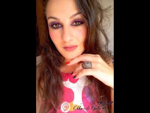 Maquiagem inspirada na Anitta