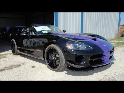 2010 Dodge Viper SRT 10 ACR American Club Racer Roanoke Edition - My Car Story with Lou Costabile