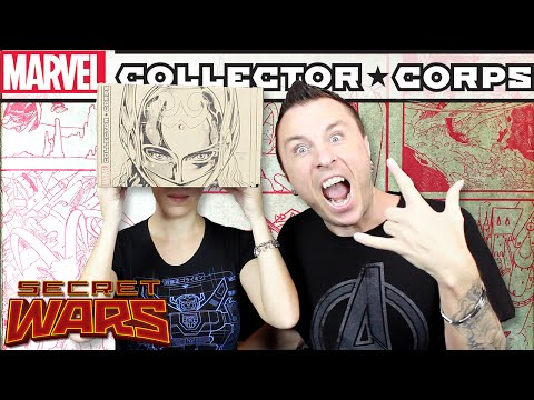 Marvel Collector Corps SECRET WARS Unboxing Review
