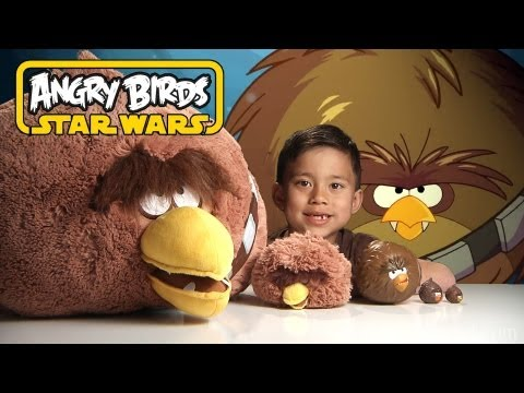 Angry Birds Star Wars FOAM FLYERS & EvanTubeHD DOUBLE TROUBLE! Epic Chewbacca Special Effects!