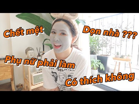 Làm Phụ Nữ có thích dọn nhà | Gia Đình Cam Cam Vlog 82 - Thời lượng: 10 phút.