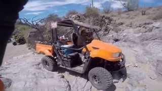 5. UXV 700 Rock crawling