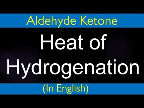 Organische Chemie: Carbonylverbindung-Heat der Hydrierung-Problem