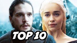 Game Of Thrones Season 7 TOP 10 Predictions. Daenerys Targaryen vs Cersei Lannister, King Jon Snow R+L=J, Arya Stark Frey...