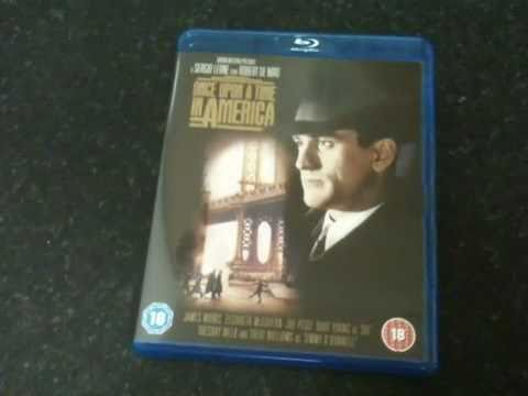 Once Upon A Time In America Blu-ray Unboxing And Review