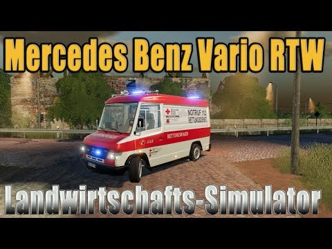 Mercedes Benz Vario RTW v1.0