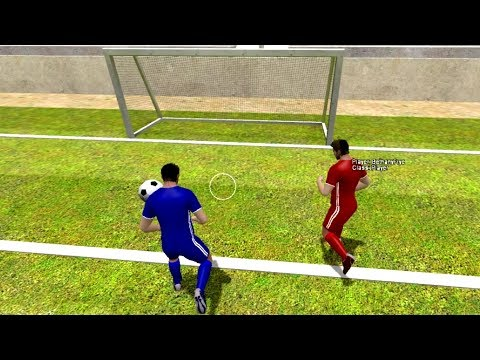 Garrys Mod - SUPER FUN 4-Player SOCCER Game! - Garry's Mod Football League (GFL)